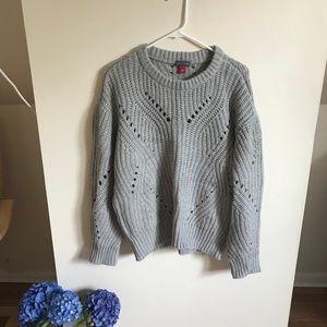 Dove Grey Chunky Sweater NWT